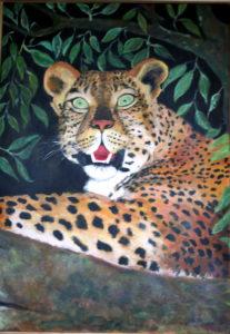 Leopard 100x70