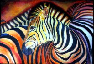 Zebra 70x100