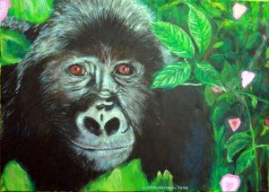 der alte Gorilla träumt von der Liebe